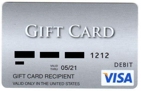 Visa Travel Gift Card - how to guide activate a gift card and create a pin