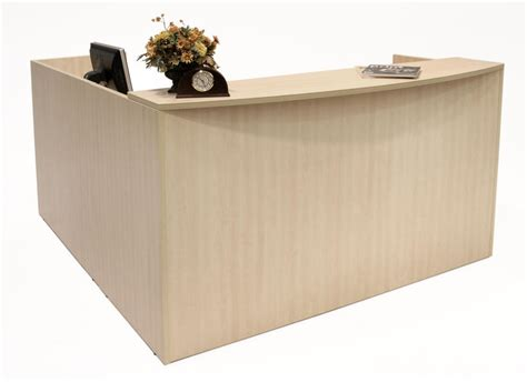 Maple Reception Desk Regency Legend Reception Desks And Lobby Furniture Lrdrt2fp