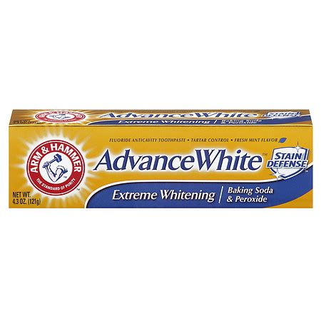 arm & hammer dental care advance white extreme whitening