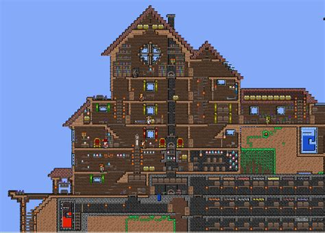 Pin Terraria House Ideas On Pinterest