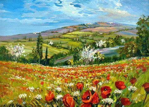 dipingere fiori ad olio dipinto ad olio su tela cornice in legno laccata oro