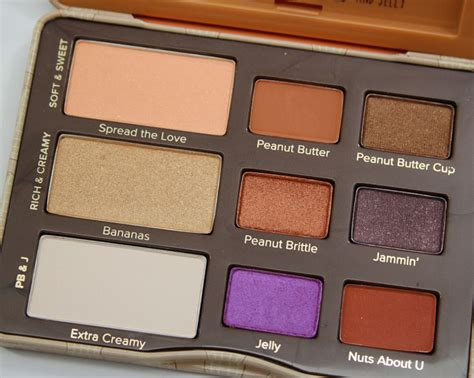 Eyeshadow Jelly faced peanut butter and jelly eye shadow collection vy varnish