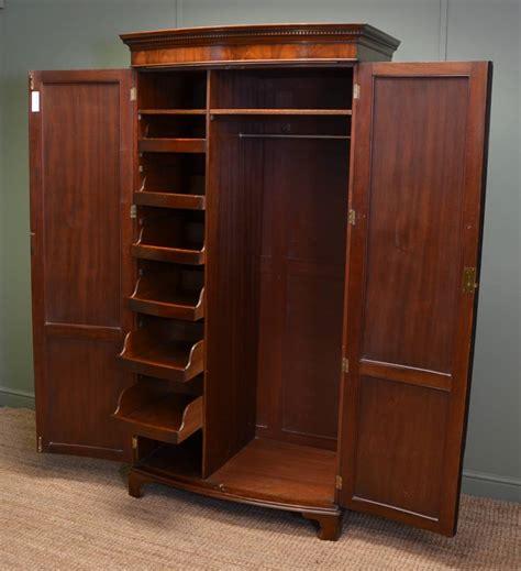 beautifully figured mahogany edwardian bow fronted antique