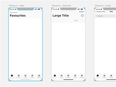 iphone app wireframe template iphone ui kit iphone 6 gui 6 plus mockup templates free