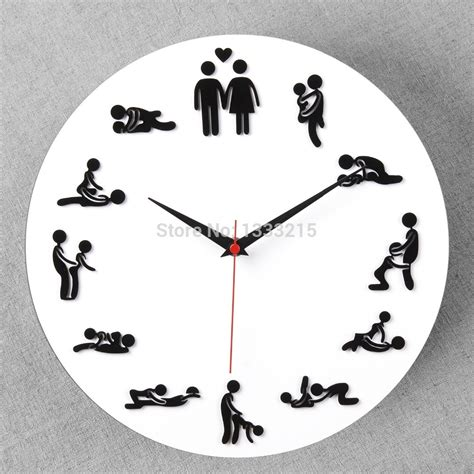 best wall clocks foever love wall clock best creative decor sexy lady clock