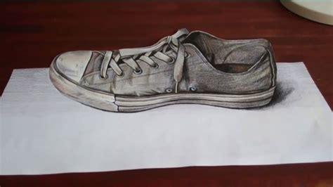 Gambar Sepatu All Dan Nya wow gambar 3d pensil di kertas ini keren bro dp bbm