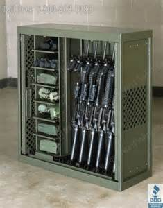 Army Bedroom Decor rifle amp long gun locker law enforcement weapons cabinet