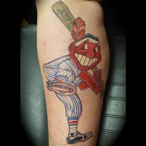 cleveland indians tattoo sloppyjoe cleveland indians via ig