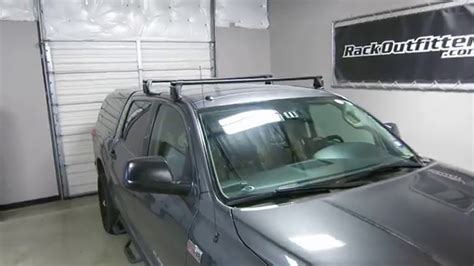 Roof Rack For Tundra Crewmax by Toyota Tundra Yakima Q Tower Bar Roof Rack 07 13
