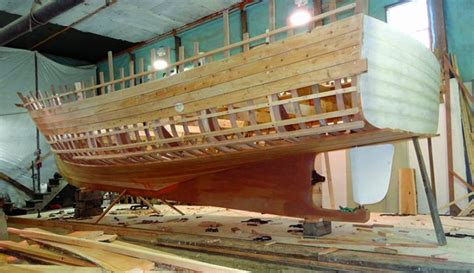maine fishing boat builders smaller wooden lobster boat offers intriguing test for
