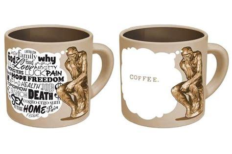 design mug keren artistic coffee cups the thinker coffee mug
