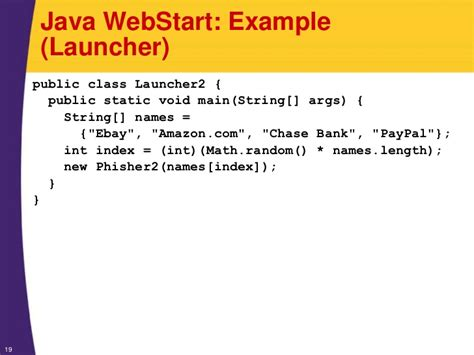 java pattern begin with java 7 programming tutorial java web start and other java