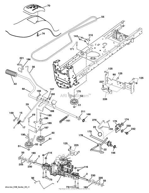 poulan lawn mower parts diagram poulan pb195h42lt 96042012302 2011 06 parts diagram