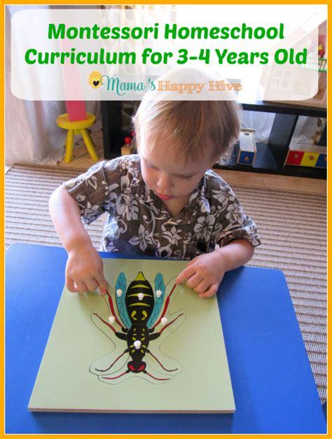 montessori homeschool curriculum for preschool s