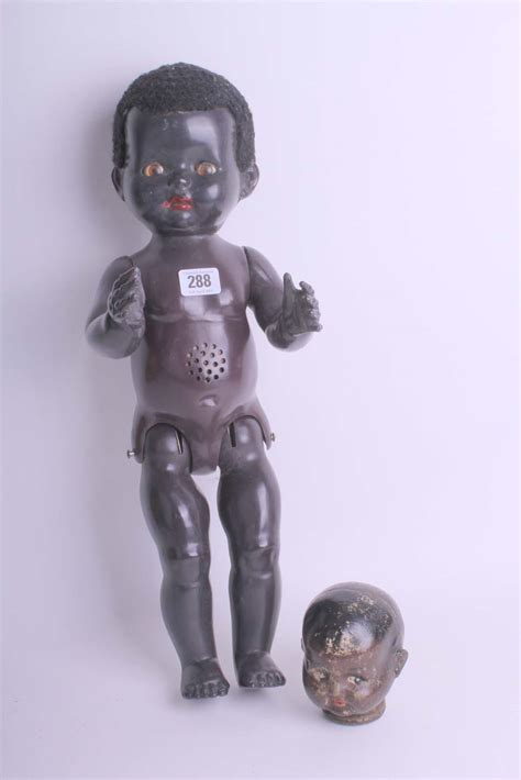 composition walking doll a black pedigree walking doll with a black composition