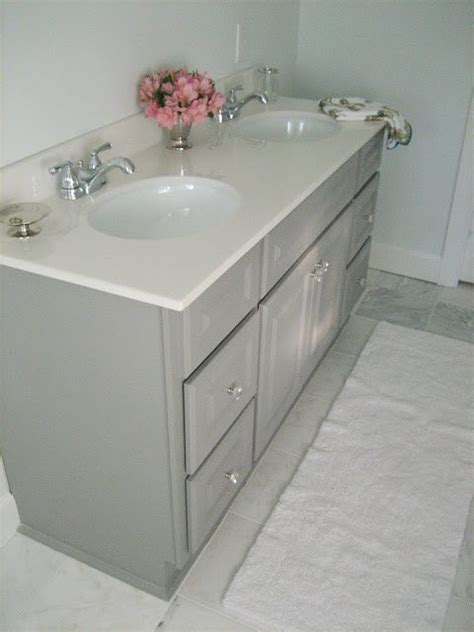 painted bathroom vanity ideas diy custom gray painted bathroom vanity from a builder
