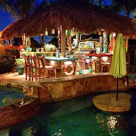 Instagram Monday It S All About Beaches And Tiki Bars Tiki Paradise In Your Backyard