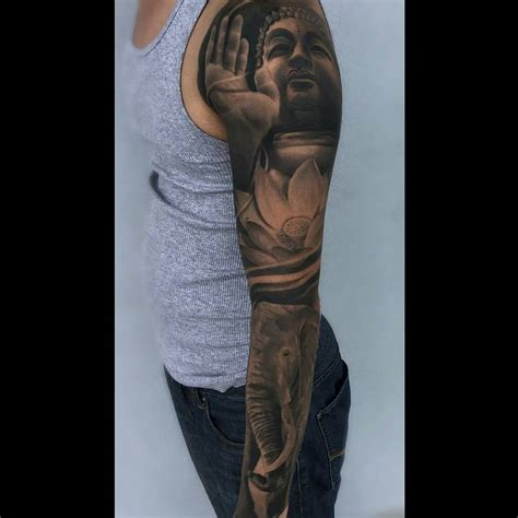 buddha tattoo sleeve buddha sleeve best ideas gallery