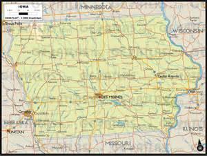 us map iowa geoatlas united states canada iowa map city