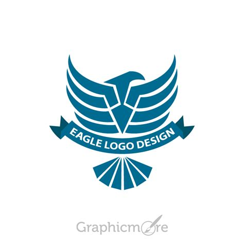 design logo psd eagle dark blue logo design free psd file download