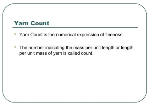 difference between corded and combed yarn yarn quality part 1