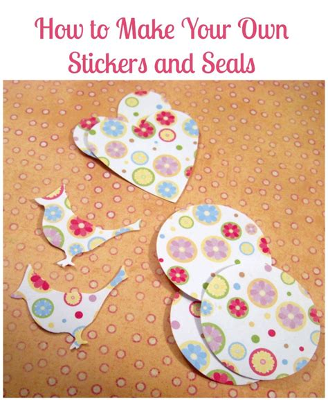 How To Make A Sticker Out Of Paper - how to make a seal out of paper 28 images origami seal
