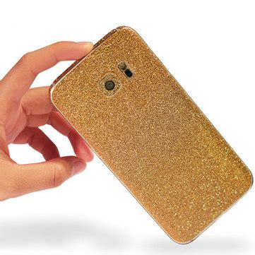 Garskin Samsung Galaxy S6 Edge Plus Sticker Stiker Glitter Skin S6 colorful scrub phone skin sticker protection for samsung galaxy s6 edge