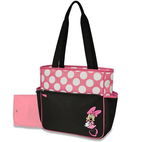 disney minnie mouse large bag baby diapering