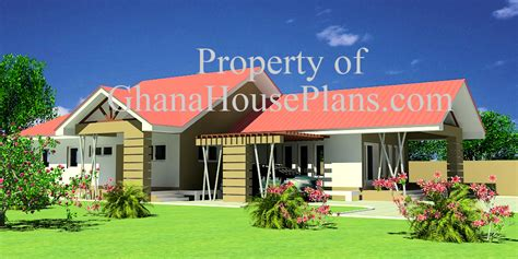 Ghana House Plans ? house for sale in Ghana Obrapa Plan