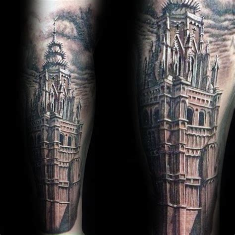 architecture tattoo 90 building tattoos for architecture ink design ideas