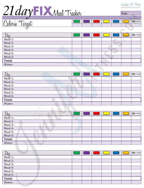 21 Day Fix Spreadsheet by 21 Day Fix Meal Plan Excel Spreadsheet 21 Day Fix Meal