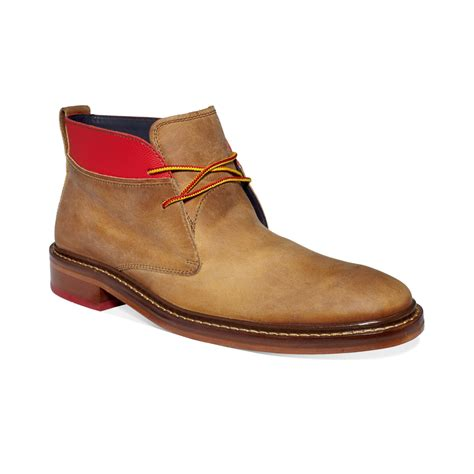 cole haan air colton winter chukka boots in brown for