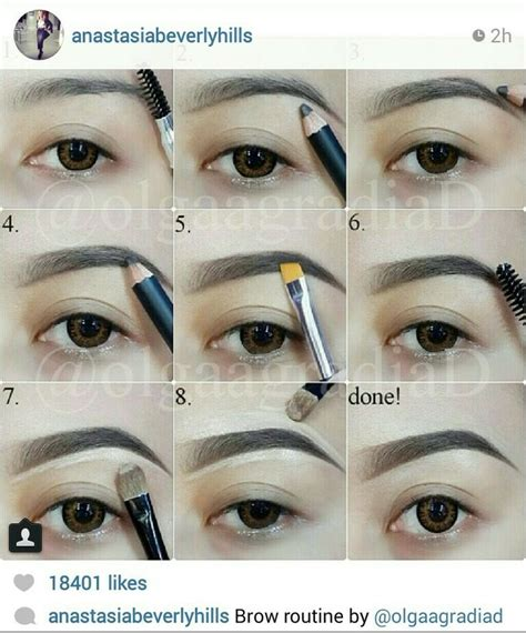 eyebrow tutorial instagram instagram eyebrows how to everything makeup pinterest