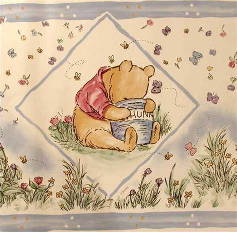 classic pooh wallpaper border classic pooh wallpaper border cloth diapers parenting