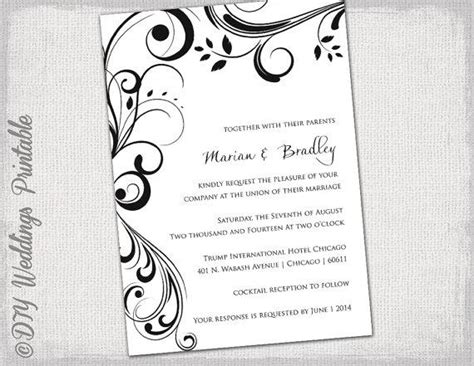 nice templates for word nice microsoft word wedding invitation templates free