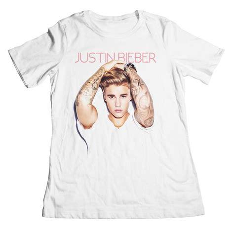 Kaos Justin Bieberjustin Bieber Tshirt justin bieber quot purpose quot boyfriend t shirt juniors