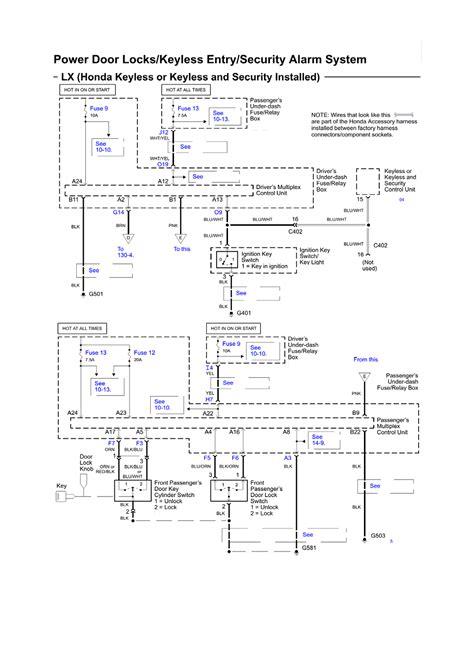 Alarm Honda viper alarm wiring diagram for 1999 honda civic wiring