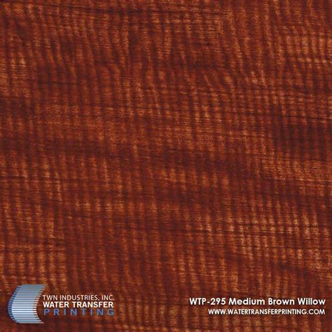 brown willow pattern medium brown willow hydrographic film wtp 295 only at