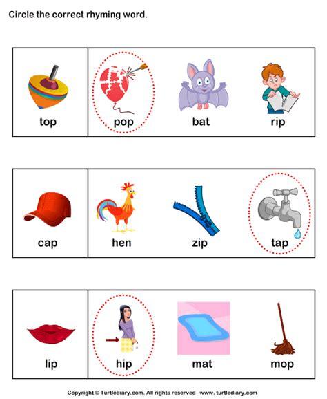 kindergarten activities rhyming words common worksheets 187 free rhyming words worksheets for