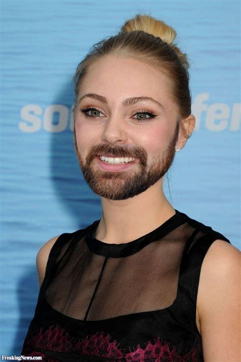 big chinned women annasophia robb with a beard pictures freaking news