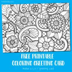 cards to color coloring card greeting card to color make breaks