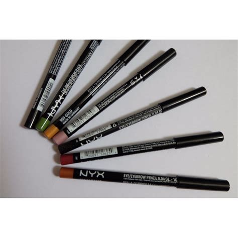 Nyx Eye Pencil nyx eye eyebrow pencil slim eye pencil beautykitshop
