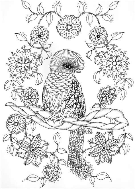 free online coloring pages for adults animals 2018 | Coloring Book ...