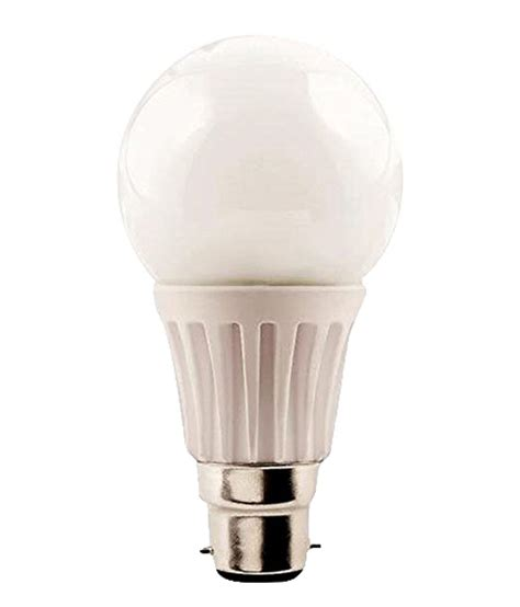 Philips B22 9 Watt syska white 7 watt b22 base led light available at
