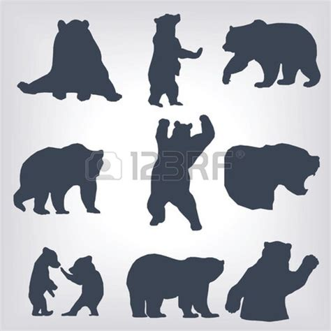 bear silhouette tattoo 728 best silhouette images on silhouettes