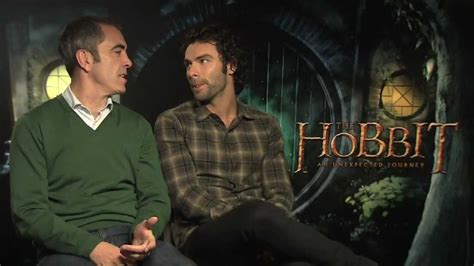 james nesbitt and aidan turner interview the hobbit