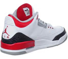 Fid Bench Nike Air Jordan 3 Retro Schuhe Wei 223 Rot Im Weare Shop