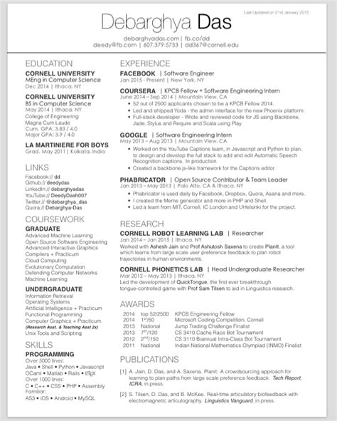 2 Column Resume Template Resume Sle Two Column Resume Template