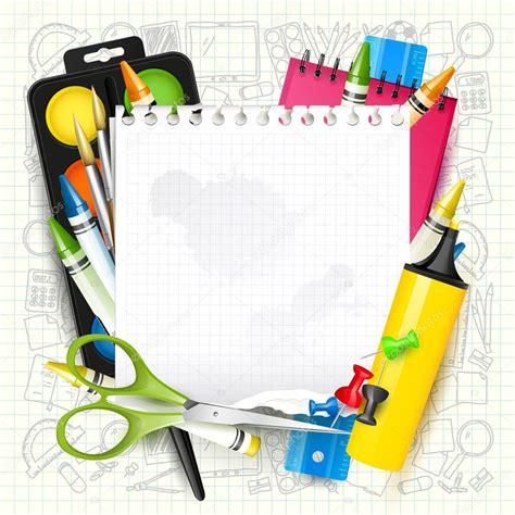 imagenes logos escolares fondo escolar con 250 tiles escolares vector de stock