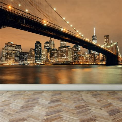 home decor wall murals wall mural new york skyline peel and stick repositionable